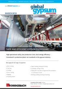 Global Gypsum Magazine - March 2018