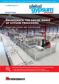 Global Gypsum Magazine - March 2020