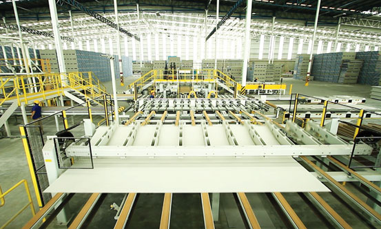 Inside the new Panel Rey plant in Cuidad Juarez, which was officially inaugurated in April 2018.